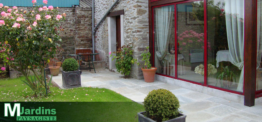 Paysagiste miniac morvan saint malo am nagement paysager for Amenagement jardin fruitier